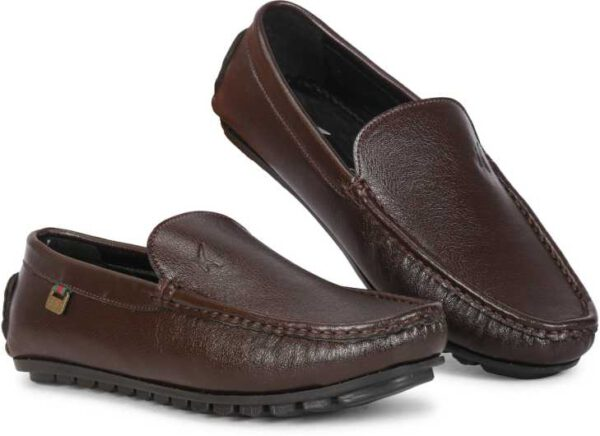 Loafers For Men (Brown)