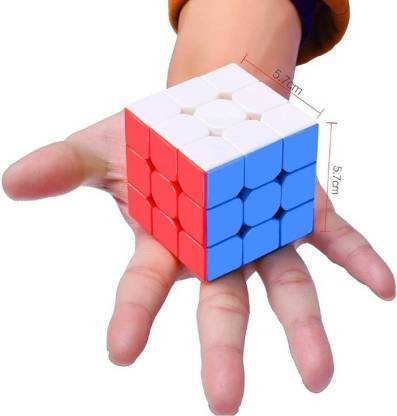 Miss & Chief High Speed Stickerless 3x3 Magic Cube Puzzle Game Toy (1 Pieces)