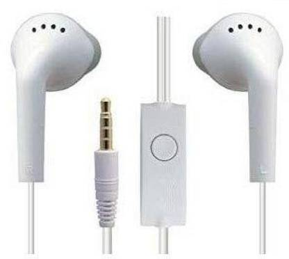 Samsung Original EHS-61 Wired Headset (White, In the Ear)