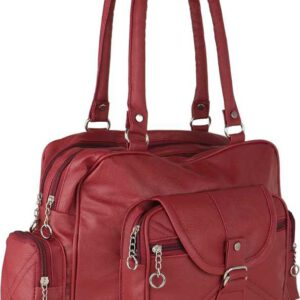 Women Maroon Satchel
